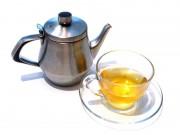 蓮茶ホット
